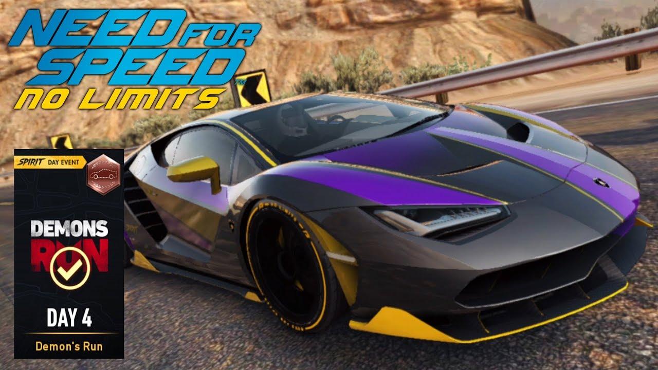 Lamborghini Centenario Day 4 Demon S Run Need For Speed No Limits