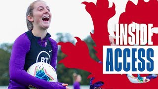 Inside Lionesses Camp: Player Arrivals, Training & Walsh Nutmegs Nobbs! | Inside Access | Lionesses