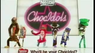 Nestle - Pop Idol Sponsorship - Choc Idol (2003, UK)