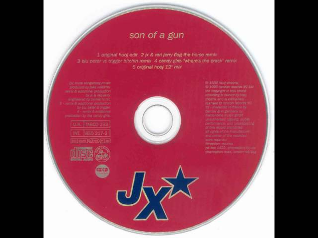 JX - Son Of A Gun (JX & Red Jerry Flog The Horse Remix)