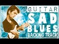 John Mayer Style Backing Track Sad Blues in G