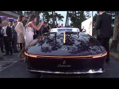 2017 Vision Mercedes-Maybach 6 Cabriolet World Debut at Pebble Beach Concours d'Elegance