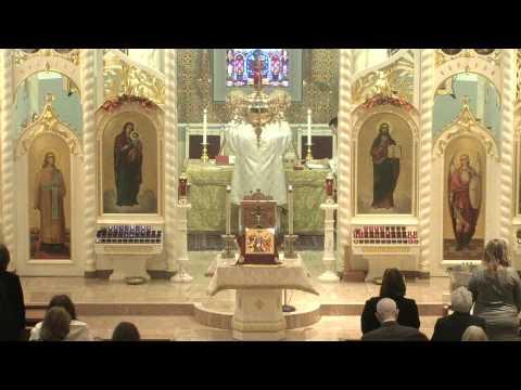 Divine Liturgy - January 19, 2014