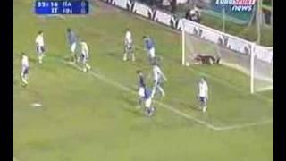 Goal Miccoli - Italy vs Finland