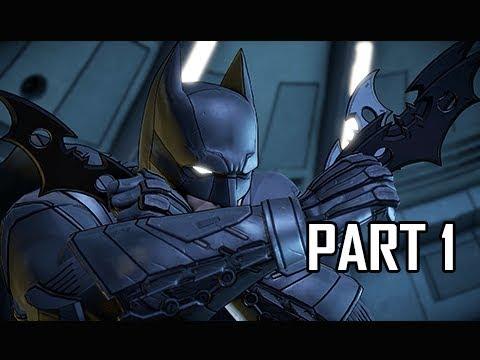 Telltale Batman Walkthrough Part 1 - What Ails You (Season 2 Episode 4)