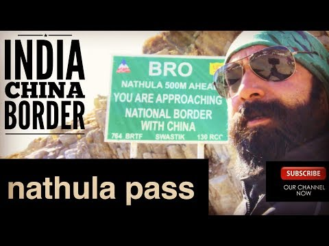 Nathula Pass I India China Border I ROYAL ENFIELD HIMALAYAN REALITY