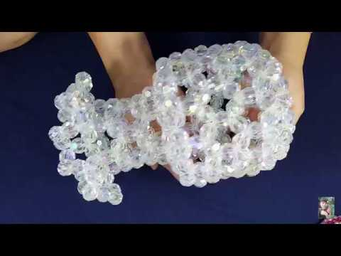 How To Make A Bead Vase Tutorial 13 Youtube