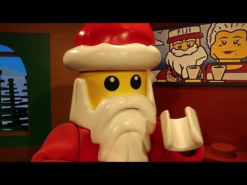 Christmas At Legoland Florida! | We Met Lego Santa, Rode A Rollercoaster & More Holiday Fun!
