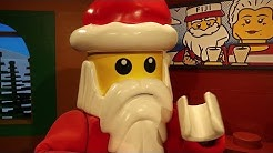 Christmas At Legoland Florida! | We Met Lego Santa, Rode A Rollercoaster & More Holiday Fun!