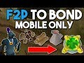 How to Earn a Bond From Scratch in F2P! - Ep 1 - Oldschool Runescape F2P Money Making Guide [OSRS]