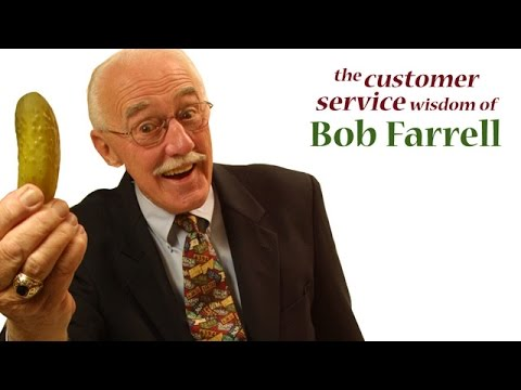 Give 'Em the Pickle by Bob Farrell - Customer Service Traini