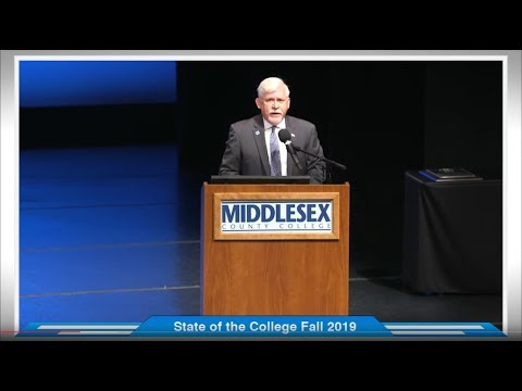 Middlesex County College - State of the College Convocation Fall 2019