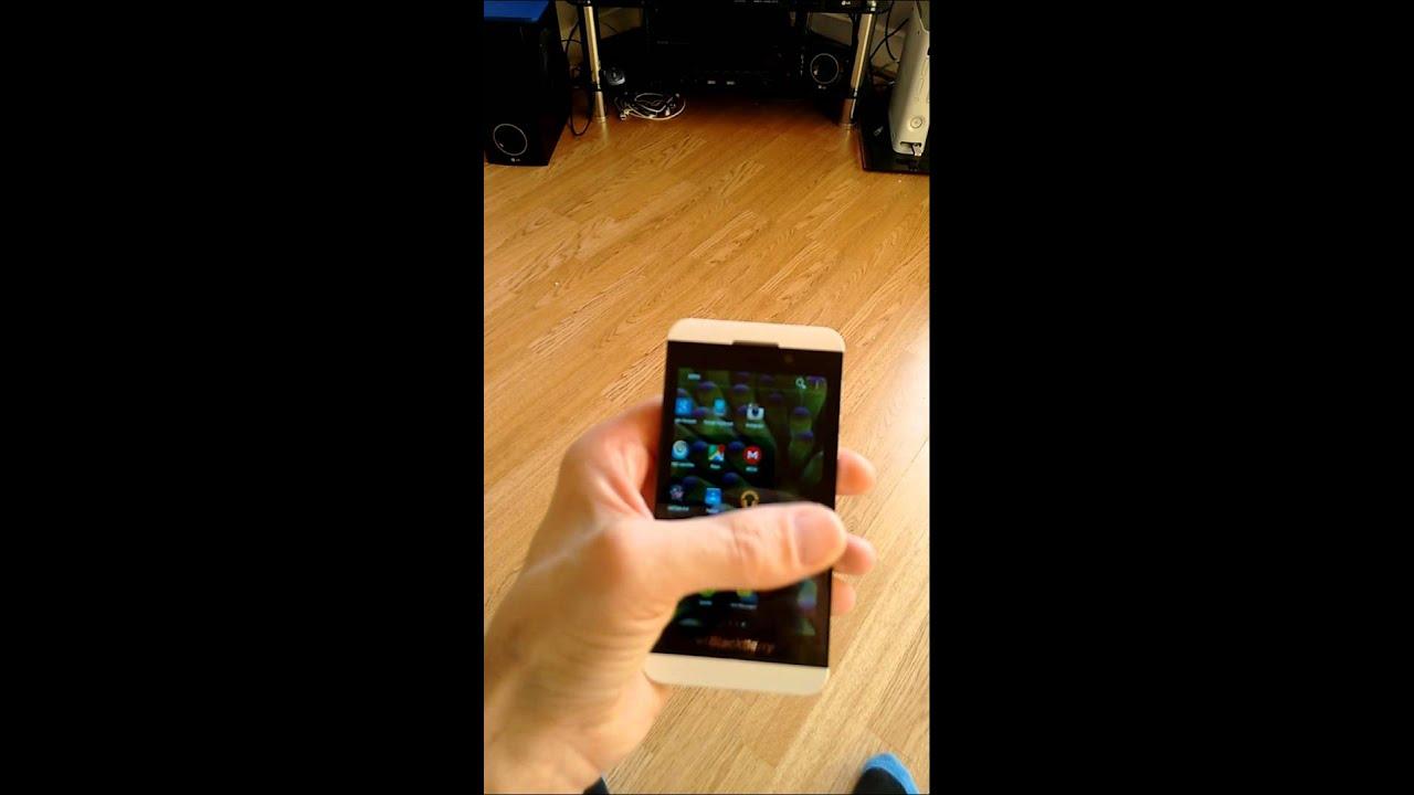 Blackberry z10 10 31+lollipop os