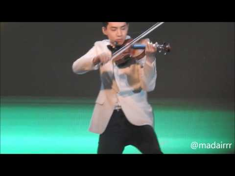 [170703] Henry Lau solo violin at Thailand Headlines Person of the year 2016-2017
