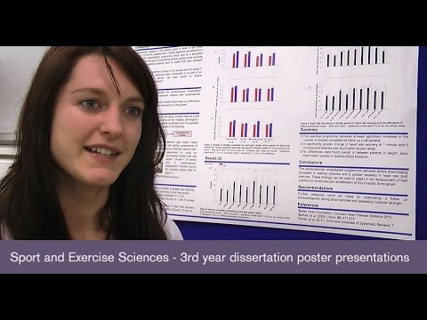 sport and exercise science dissertation
