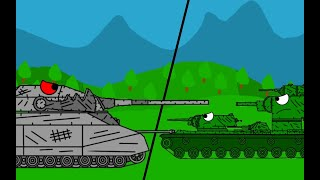 Битва монстров мультики про танки