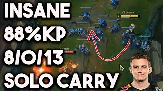 How C9 Licorice Decimated CG and Solo Carried w/ 88% Kill Participation ~ League of Legends