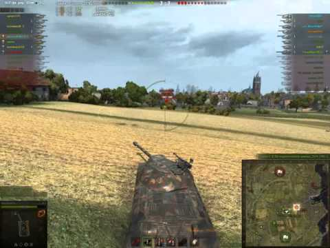 WOT IS3,STA-1, platoon double tank ace 3+3 kill