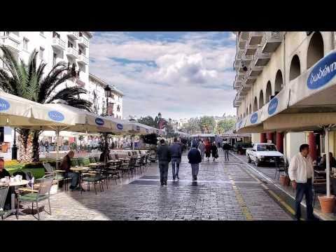 Thessaloniki Greece-Tourist attractions-Zorba's song .wmv