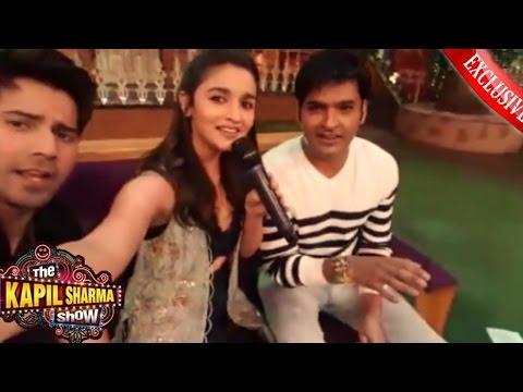 The Kapil Sharma Show  Badri Ki Dulhania Alia Bhatt & Varun Dhawan Live from Studio