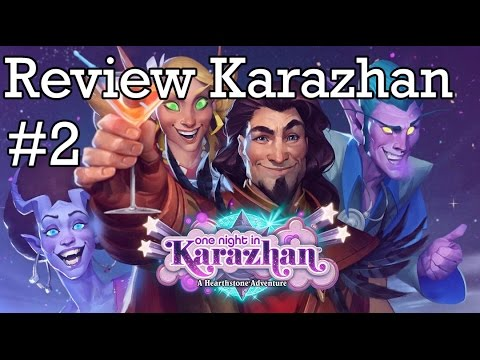 Review de Karazhan #2: Cartas das Classes...