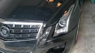 D3 Cadillac ATS RS bumper complete (mostly)