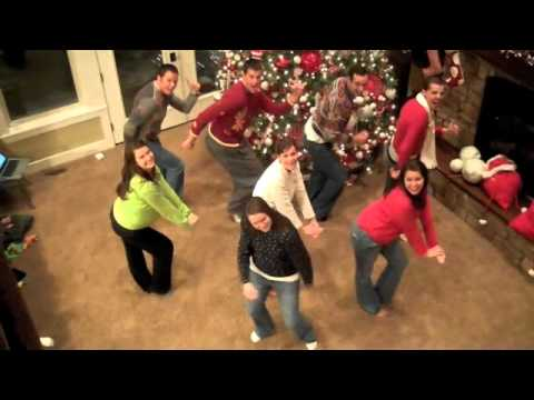 Deck the Rooftop-Glee music video