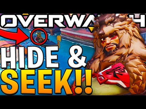 OVERWATCH *NEW* ITALY MAP HIDE AND SEEK WITH FRIENDS!!