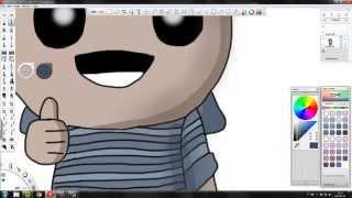 Drawing chiciorPL as Isaac