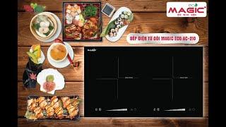 Bếp điện từ đôi Magic Eco AC-210 - Nhập khẩu Malaysia