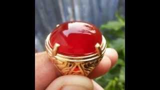 batu akik bengkulu batu red raflesia uk 23 5x18x9