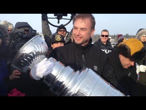Stanley Cup visits Sandy Lake First Nations