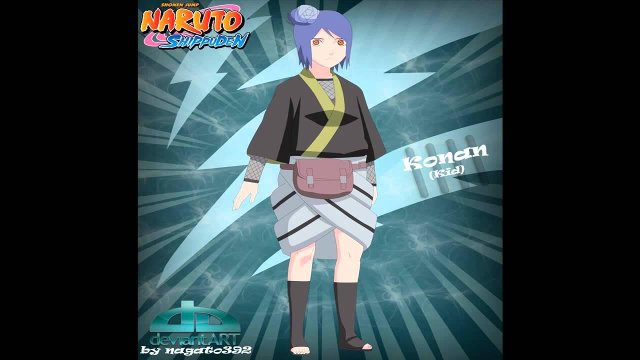 naruto shippuden konan kid wwwpixsharkcom images