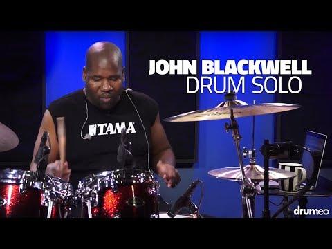 John Blackwell Drum Solo - Drumeo