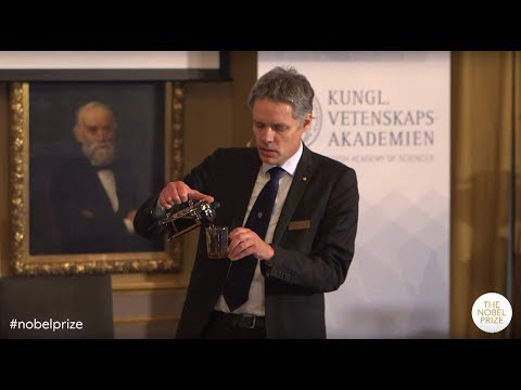 Announcement of the Nobel Prize in Physics 2019