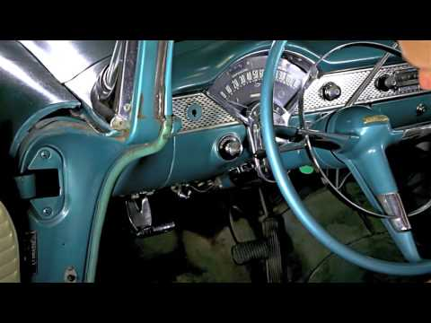 how to remove \u0026 replace the headlight switch in your 1955 1956 chevy 56 Bel Air Dash