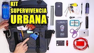 KIT DE SUPERVIVENCIA URBANA PARA APOCALIPSIS ZOMBIE | KIT EDC