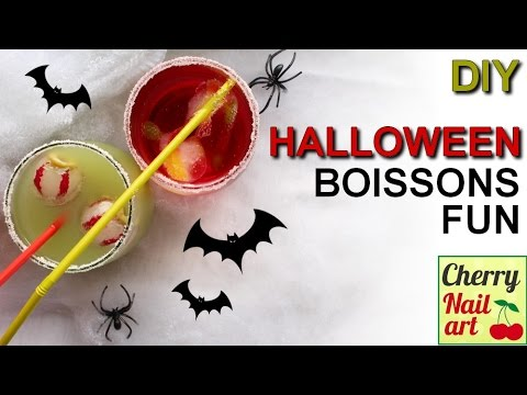 diy halloween boissons rigolotes youtube. Black Bedroom Furniture Sets. Home Design Ideas
