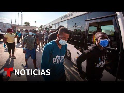 Estiman en unos 4,000 los haitianos deportados a su país | Noticias Telemundo
