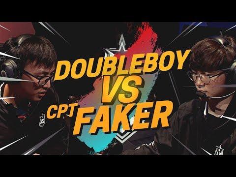 DOUBLELIFT/VOYBOY VS FAKER/CAPTAIN JACK (ALLSTARS 2018)
