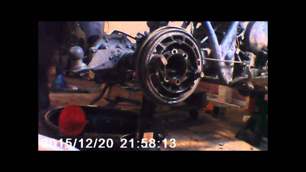 Replace Wheel Bearings Yamaha Grizzly