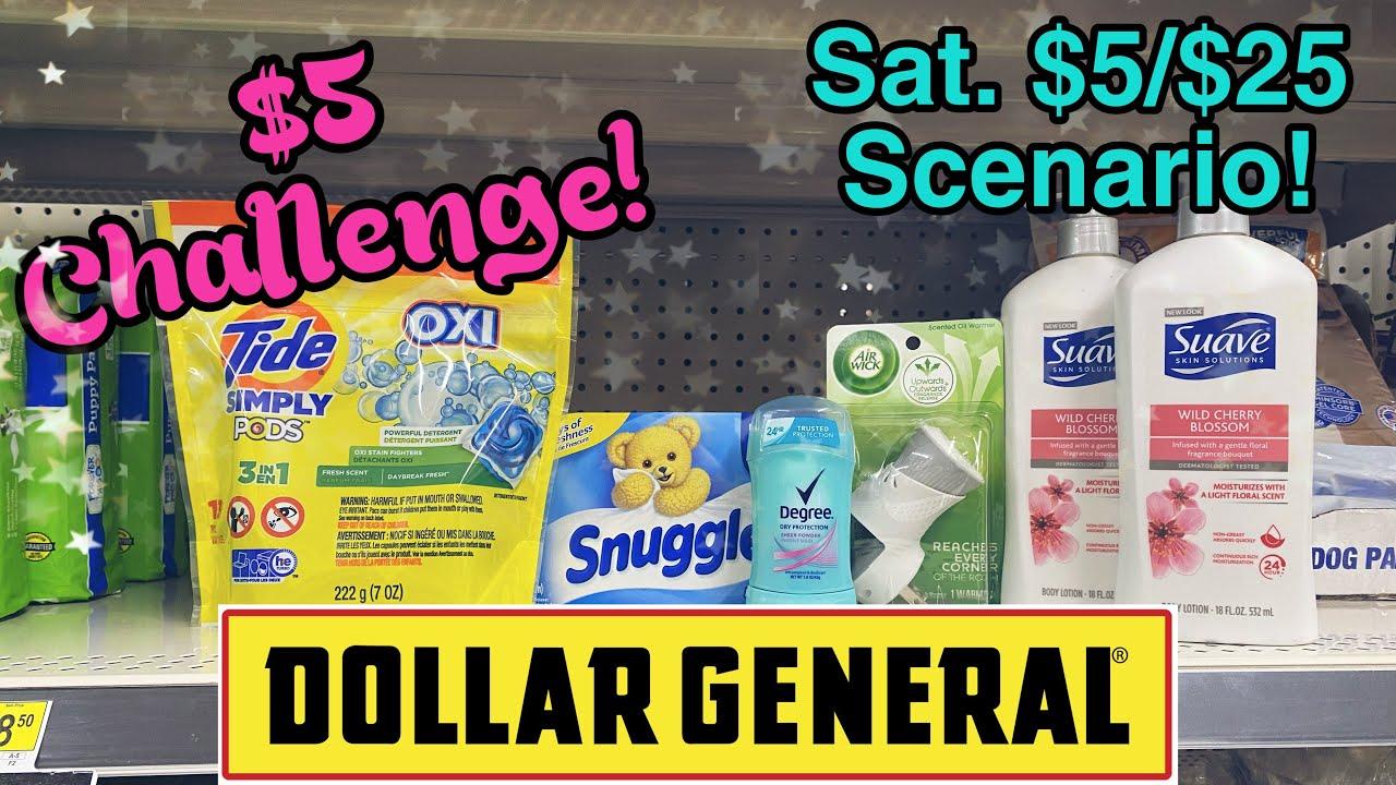 Dollar General $5 Challenge 12/20-26/2020