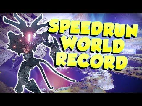 4:38 Pyramidion Prestige Nightfall Speedrun! World Record [Destiny 2]