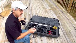 Wreck Diving Magazine TV - Product Review 1 - Aquascan DX200 Magnetometer