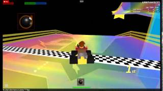 (Roblox Karts) Rainbow Road