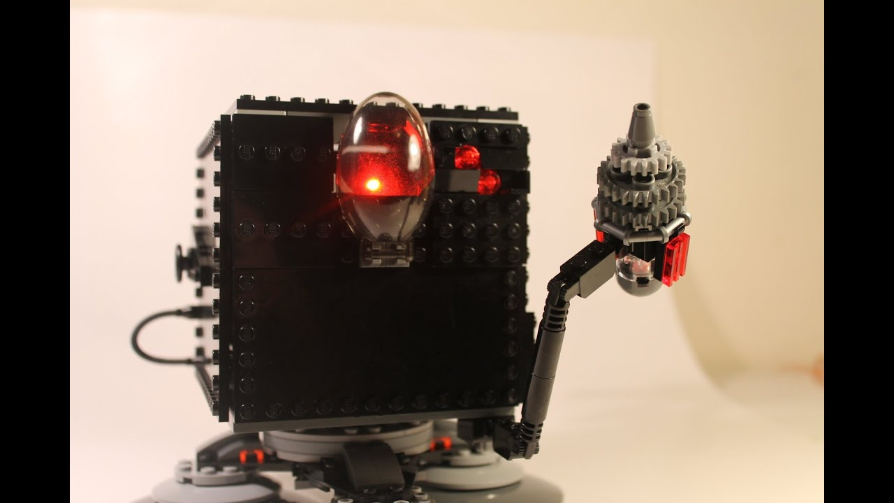The Lego Movie The Mega Micro Manager Moc Review Youtube