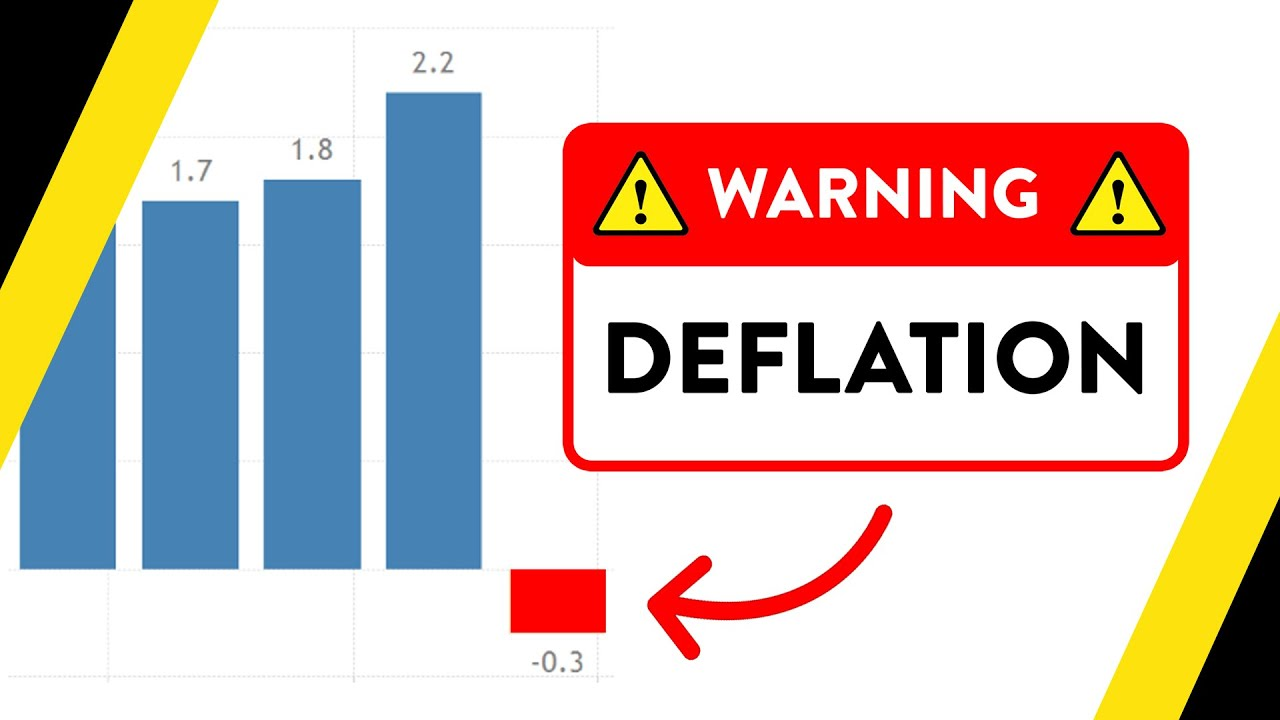 We're in DEFLATION for the first time in 22 years.