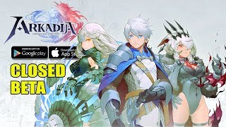 Arkadia: Chronicle of Hemitheos - Beta Gameplay (Android/IOS)