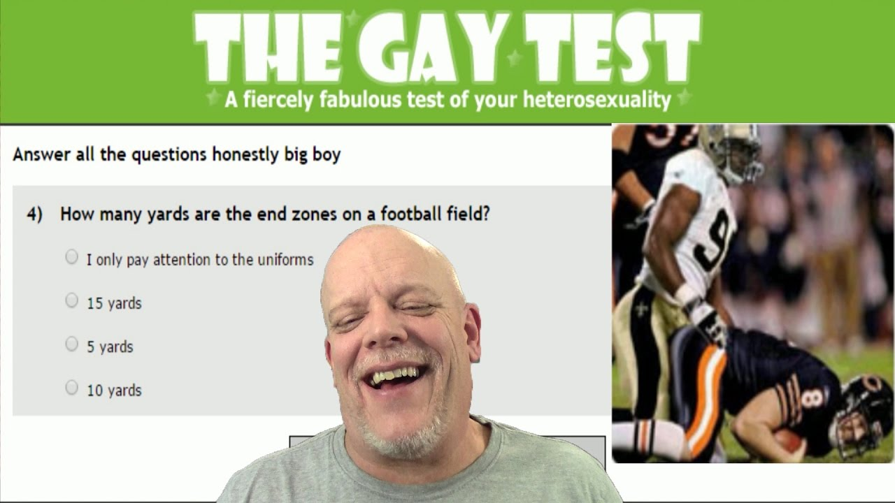 from Jamal am i a gay test