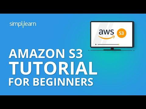 Amazon S3 Tutorial For Beginners | AWS S3 Bucket Tutorial |AWS Tutorial For Beginners | Simplilearn